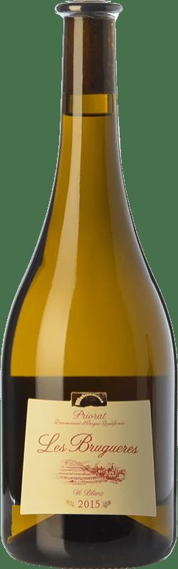 34,95 € Free Shipping | White wine La Conreria de Scala Dei Les Brugueres Blanc D.O.Ca. Priorat Catalonia Spain Grenache White Magnum Bottle 1,5 L