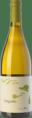 18,95 € Free Shipping | White wine La Costa Brigante Bianco I.G.T. Terre Lariane Lombardia Italy Chardonnay, Manzoni Bianco, Verdiso Bottle 75 cl