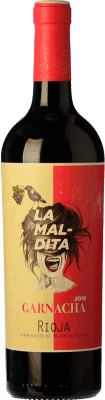 8,95 € Free Shipping | Red wine La Maldita Joven D.O.Ca. Rioja The Rioja Spain Grenache Bottle 75 cl