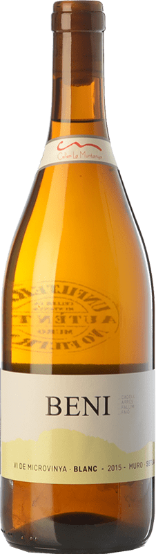 7,95 € Envoi gratuit   Vin blanc La Muntanya Beni Crianza Espagne Malvasía, Grenache Blanc Bouteille 75 cl