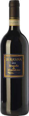 41,95 € Free Shipping | Red wine La Rasina D.O.C.G. Brunello di Montalcino Tuscany Italy Sangiovese Bottle 75 cl