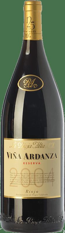335,95 € Envío gratis | Vino tinto Rioja Alta Viña Ardanza Reserva 2008 D.O.Ca. Rioja La Rioja España Tempranillo, Garnacha Botella Jéroboam-Doble Mágnum 3 L