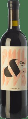 66,95 € Envío gratis | Vino tinto La Vinya del Vuit Crianza D.O.Ca. Priorat Cataluña España Garnacha, Cariñena Botella 75 cl