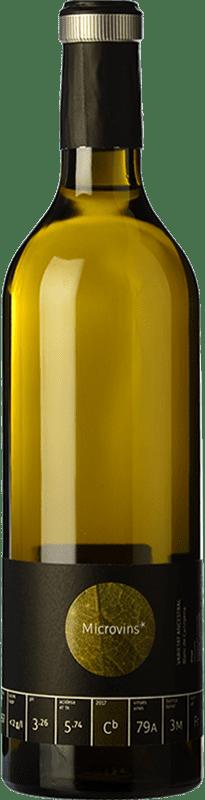 16,95 € Free Shipping | White wine La Vinyeta Microvins Varietat Ancestral Crianza D.O. Empordà Catalonia Spain Carignan White Bottle 75 cl