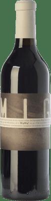 13,95 € Free Shipping | Red wine La Vinyeta MigMig Crianza D.O. Empordà Catalonia Spain Grenache Tintorera, Marcelan Bottle 75 cl