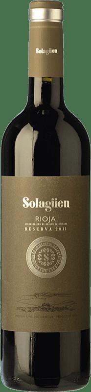 15,95 € Free Shipping | Red wine Labastida Solagüen Reserva D.O.Ca. Rioja The Rioja Spain Tempranillo Bottle 75 cl