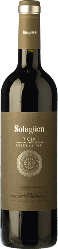 15,95 € Envoi gratuit | Vin rouge Labastida Solagüen Reserva D.O.Ca. Rioja La Rioja Espagne Tempranillo Bouteille 75 cl