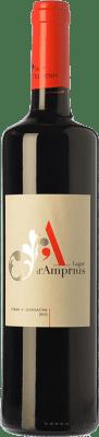 Red wine Lagar d'Amprius Syrah-Garnacha Joven I.G.P. Vino de la Tierra Bajo Aragón Aragon Spain Syrah, Grenache Bottle 75 cl