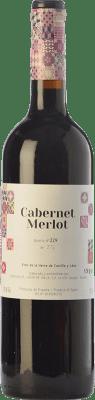 22,95 € Free Shipping | Red wine Lagar de Isilla La Casona de la Vid Crianza I.G.P. Vino de la Tierra de Castilla y León Castilla y León Spain Merlot, Cabernet Sauvignon Bottle 75 cl