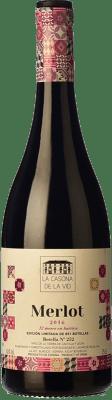 22,95 € Free Shipping | Red wine Lagar de Isilla La Casona de la Vid Crianza I.G.P. Vino de la Tierra de Castilla y León Castilla y León Spain Merlot Bottle 75 cl