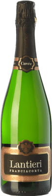 19,95 € Free Shipping | White sparkling Lantieri Cuvée Brut D.O.C.G. Franciacorta Lombardia Italy Chardonnay, Pinot White Bottle 75 cl. | Thousands of wine lovers trust us to get the best price guarantee, free shipping always and hassle-free shopping and returns.