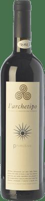 22,95 € Free Shipping | Red wine L'Archetipo I.G.T. Salento Campania Italy Primitivo Bottle 75 cl