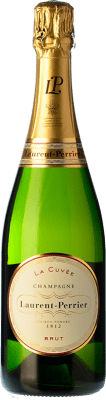 36,95 € Free Shipping | White sparkling Laurent Perrier Brut Gran Reserva A.O.C. Champagne Champagne France Pinot Black, Chardonnay, Pinot Meunier Bottle 75 cl. | Thousands of wine lovers trust us to get the best price guarantee, free shipping always and hassle-free shopping and returns.