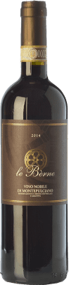 22,95 € Free Shipping | Red wine Le Bèrne Nobile D.O.C. Rosso di Montepulciano Tuscany Italy Sangiovese Bottle 75 cl