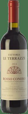 14,95 € Free Shipping | Red wine Le Terrazze D.O.C. Rosso Conero Marche Italy Montepulciano Bottle 75 cl