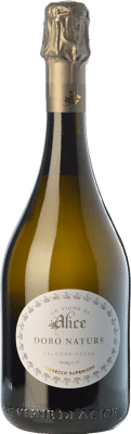 13,95 € Free Shipping | White sparkling Le Vigne di Alice Doro Brut Nature D.O.C.G. Prosecco di Conegliano-Valdobbiadene Treviso Italy Glera Bottle 75 cl. | Thousands of wine lovers trust us to get the best price guarantee, free shipping always and hassle-free shopping and returns.