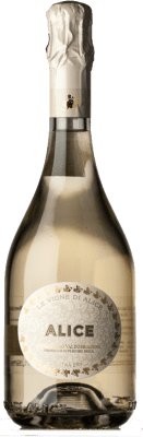 12,95 € Free Shipping | White sparkling Le Vigne di Alice Extra Dry D.O.C.G. Prosecco di Conegliano-Valdobbiadene Treviso Italy Glera Bottle 75 cl. | Thousands of wine lovers trust us to get the best price guarantee, free shipping always and hassle-free shopping and returns.