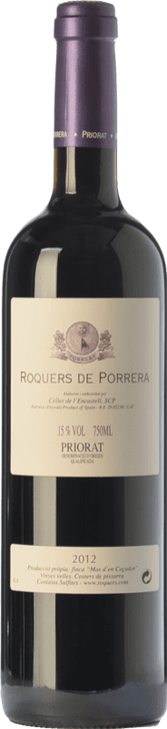 43,95 € Free Shipping   Red wine L'Encastell Roquers de Porrera Crianza D.O.Ca. Priorat Catalonia Spain Merlot, Syrah, Grenache, Carignan Bottle 75 cl
