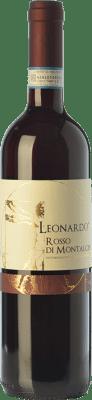 13,95 € Free Shipping   Red wine Leonardo da Vinci Leonardo D.O.C. Rosso di Montalcino Tuscany Italy Sangiovese Bottle 75 cl