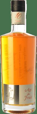 74,95 € Free Shipping | Cognac Léopold Gourmel Age du Fruit A.O.C. Cognac France Bottle 70 cl