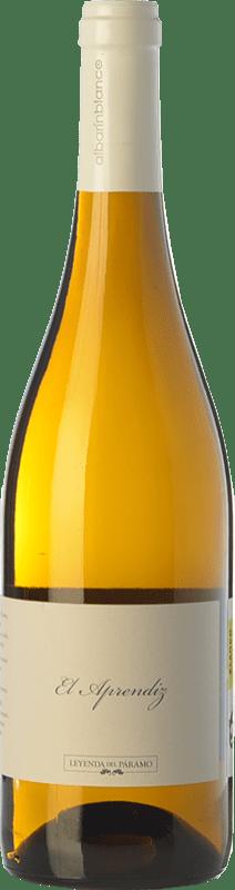 7,95 € Free Shipping | White wine Leyenda del Páramo El Aprendiz D.O. Tierra de León Castilla y León Spain Albarín Bottle 75 cl