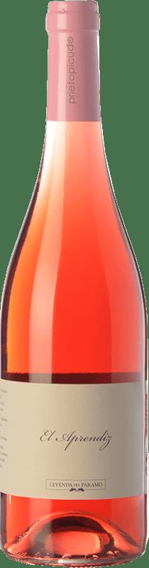 7,95 € Free Shipping | Rosé wine Leyenda del Páramo El Aprendiz D.O. Tierra de León Castilla y León Spain Prieto Picudo Bottle 75 cl
