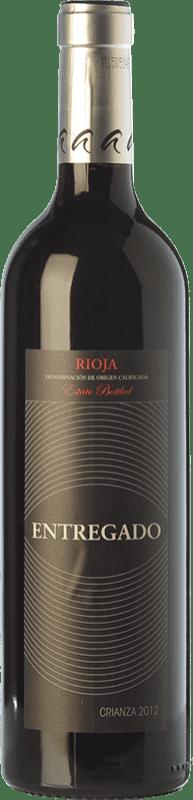 5,95 € Envoi gratuit | Vin rouge Leza Entregado Selección Crianza D.O.Ca. Rioja La Rioja Espagne Tempranillo, Grenache Bouteille 75 cl