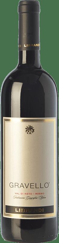 19,95 € Free Shipping | Red wine Librandi Gravello I.G.T. Val di Neto Calabria Italy Cabernet Sauvignon, Gaglioppo Bottle 75 cl