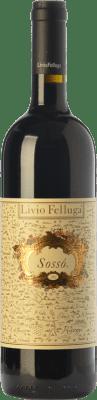 44,95 € Free Shipping | Red wine Livio Felluga Sossò D.O.C. Colli Orientali del Friuli Friuli-Venezia Giulia Italy Merlot, Riflesso dal Peduncolo Rosso, Pignolo Bottle 75 cl
