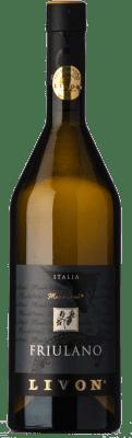 29,95 € Free Shipping | White wine Livon Manditocai D.O.C. Collio Goriziano-Collio Friuli-Venezia Giulia Italy Friulano Bottle 75 cl