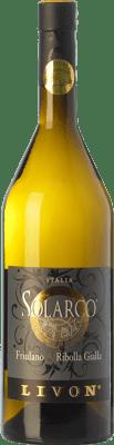 21,95 € Free Shipping | White wine Livon Solarco D.O.C. Collio Goriziano-Collio Friuli-Venezia Giulia Italy Ribolla Gialla, Friulano Bottle 75 cl