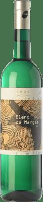 15,95 € Free Shipping | White wine L'Olivera Blanc de Marges Crianza D.O. Costers del Segre Catalonia Spain Malvasía, Xarel·lo, Parellada Bottle 75 cl