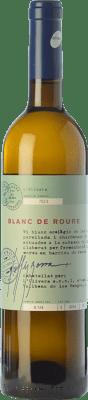 9,95 € Free Shipping | White wine L'Olivera Blanc de Roure Crianza D.O. Costers del Segre Catalonia Spain Macabeo, Chardonnay, Parellada Bottle 75 cl