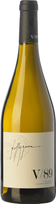 29,95 € Free Shipping | White wine L'Olivera Vallisbona 89 Crianza D.O. Costers del Segre Catalonia Spain Chardonnay Bottle 75 cl