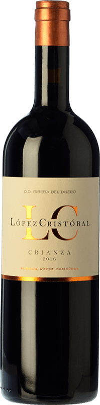 16,95 € Envoi gratuit   Vin rouge López Cristóbal Crianza D.O. Ribera del Duero Castille et Leon Espagne Tempranillo, Merlot Bouteille 75 cl