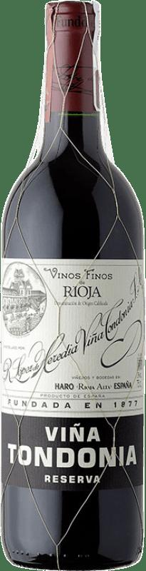 69,95 € Free Shipping | Red wine López de Heredia Viña Tondonia Reserva 2005 D.O.Ca. Rioja The Rioja Spain Tempranillo, Grenache, Graciano, Mazuelo Magnum Bottle 1,5 L