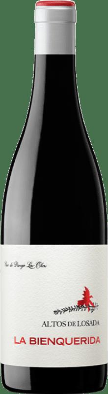 37,95 € Envío gratis | Vino tinto Losada La Bienquerida Crianza D.O. Bierzo Castilla y León España Mencía Botella 75 cl