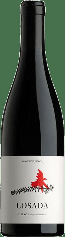 12,95 € Free Shipping | Red wine Losada Joven D.O. Bierzo Castilla y León Spain Mencía Bottle 75 cl