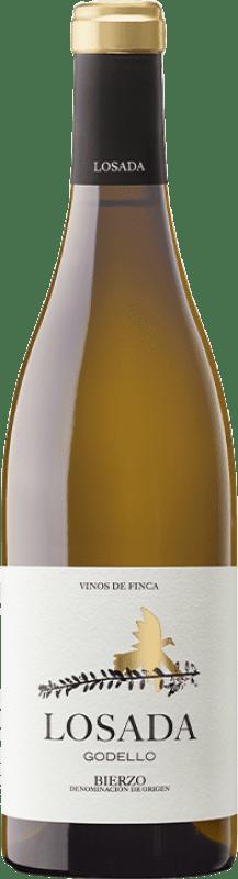 14,95 € Envío gratis | Vino blanco Losada Crianza D.O. Bierzo Castilla y León España Godello Botella 75 cl