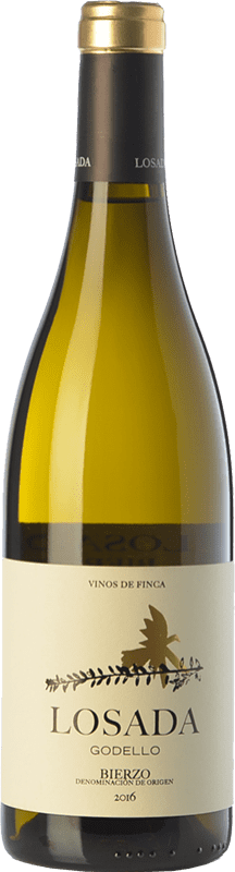 17,95 € Free Shipping | White wine Losada Crianza D.O. Bierzo Castilla y León Spain Godello Bottle 75 cl
