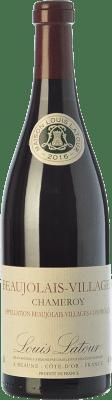 14,95 € Envío gratis | Vino tinto Louis Latour Chameroy Joven A.O.C. Beaujolais-Villages Beaujolais Francia Gamay Botella 75 cl