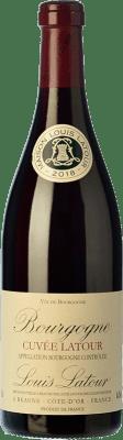 19,95 € Envío gratis | Vino tinto Louis Latour Cuvée Latour Crianza A.O.C. Bourgogne Burgundy Francia Pinot Negro Botella 75 cl