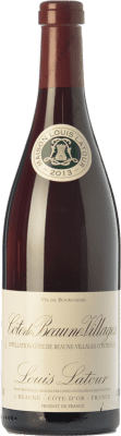 28,95 € Бесплатная доставка | Красное вино Louis Latour Villages Crianza A.O.C. Côte de Beaune Бургундия Франция Pinot Black бутылка 75 cl