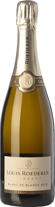 88,95 € Free Shipping | White sparkling Louis Roederer Blanc de Blancs Gran Reserva 2009 A.O.C. Champagne Champagne France Chardonnay Bottle 75 cl