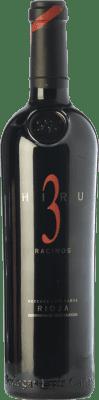 104,95 € Envoi gratuit | Vin rouge Luis Cañas Hiru 3 Racimos Crianza 2009 D.O.Ca. Rioja La Rioja Espagne Tempranillo Bouteille 75 cl