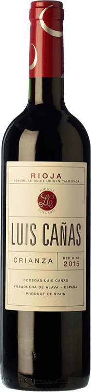 9,95 € Free Shipping | Red wine Luis Cañas Crianza D.O.Ca. Rioja The Rioja Spain Tempranillo, Grenache Bottle 75 cl
