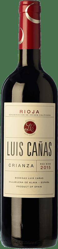 9,95 € Envoi gratuit | Vin rouge Luis Cañas Crianza D.O.Ca. Rioja La Rioja Espagne Tempranillo, Grenache Bouteille 75 cl