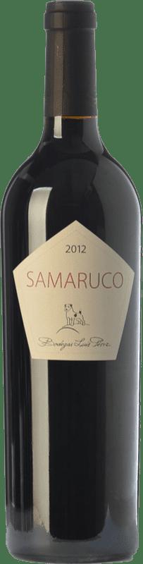 19,95 € Envío gratis   Vino tinto Luis Pérez Samaruco Crianza I.G.P. Vino de la Tierra de Cádiz Andalucía España Merlot, Syrah Botella 75 cl