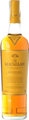 Whisky Single Malt Macallan Edition Nº 3 Highlands Royaume-Uni Bouteille 70 cl