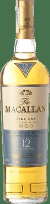 63,95 € Free Shipping | Whisky Single Malt Macallan Fine Oak 12 Highlands United Kingdom Bottle 70 cl